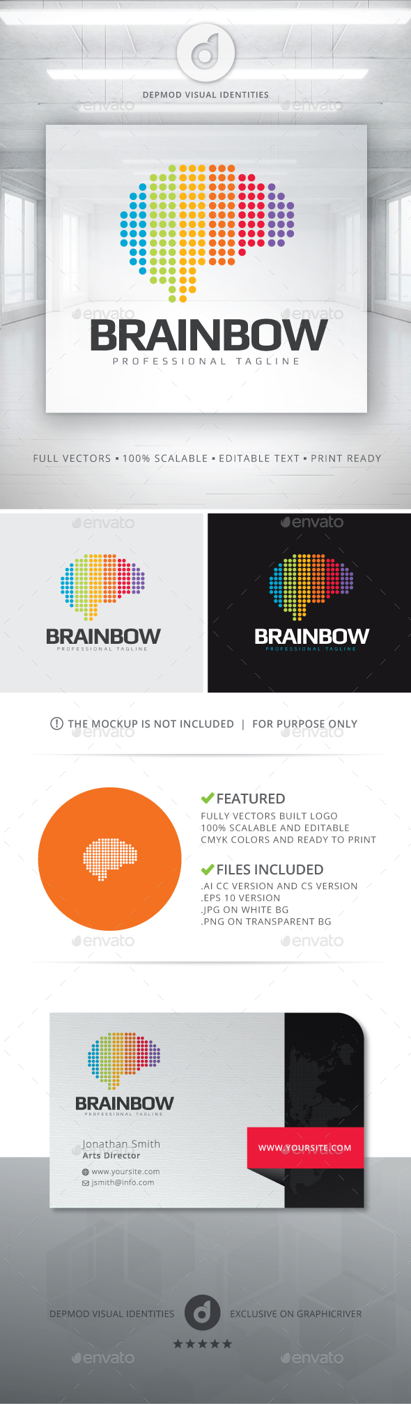 Brainbow Logo - Humans Logo Templates