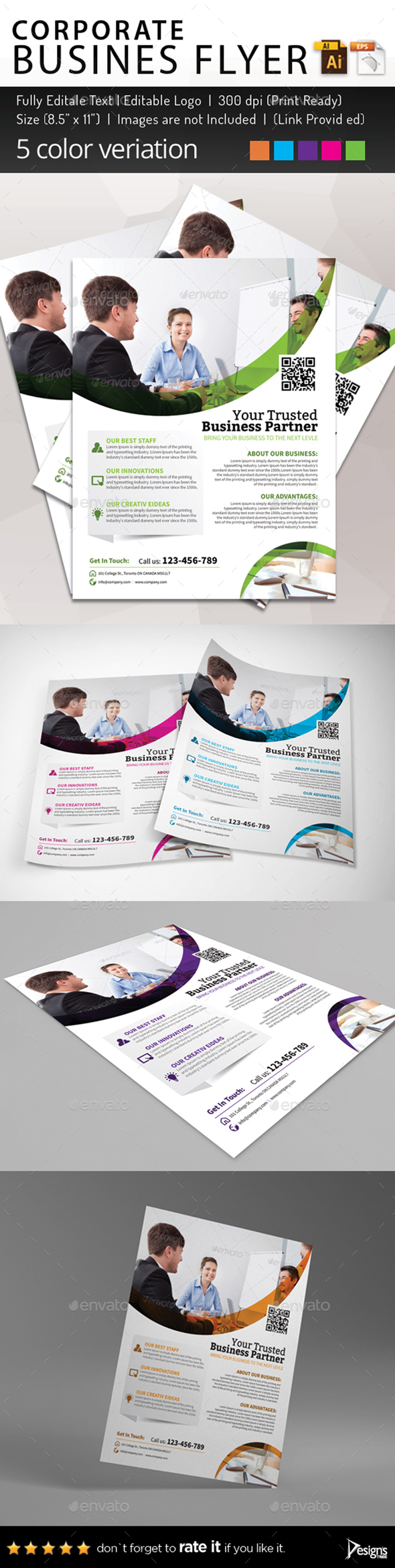 Multipurpose Business Flyer 81 - Corporate Flyers