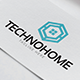 Techno Home Logo - GraphicRiver Item for Sale