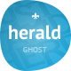 Herald - News & Magazine Ghost Theme - ThemeForest Item for Sale