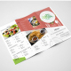 Omnomnom A4 Trifold Menu - GraphicRiver Item for Sale