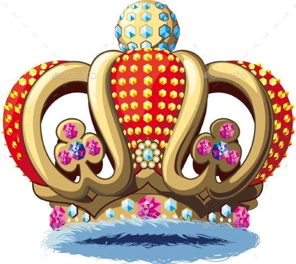 Royal Crown - Decorative Symbols Decorative