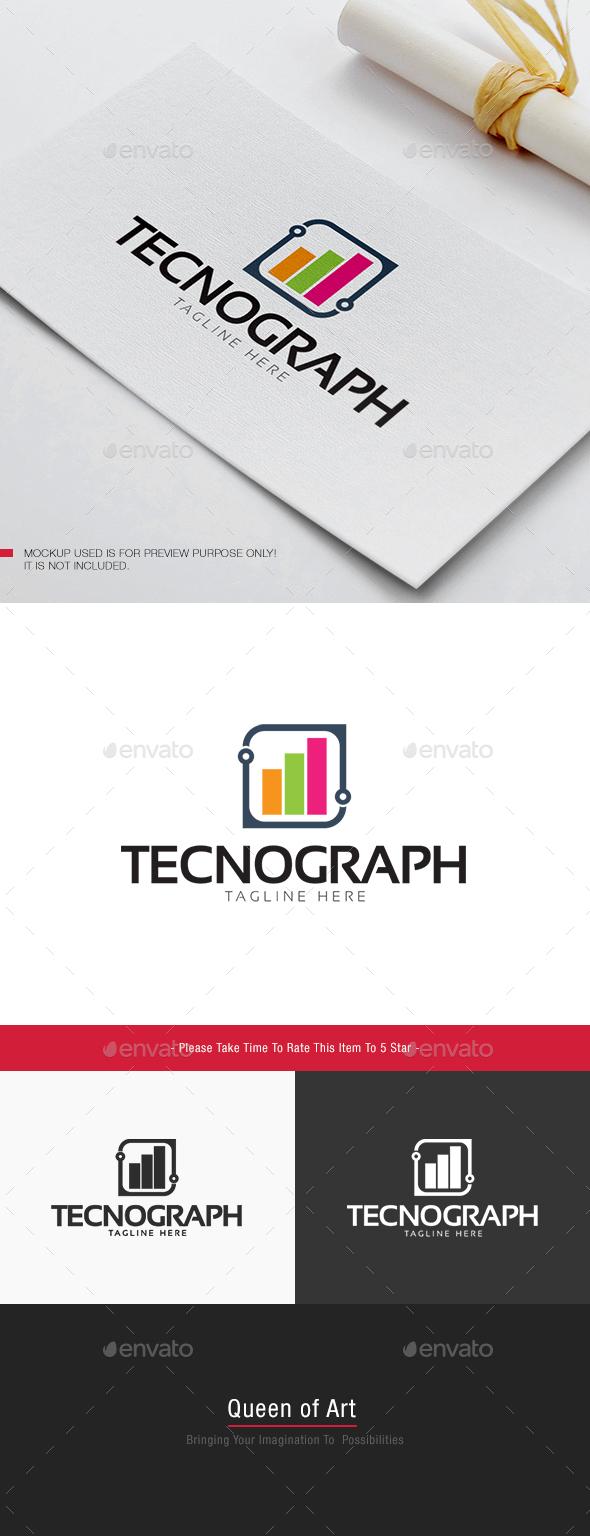 Tecno Graph Logo - Objects Logo Templates