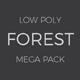 Low Poly Forest Mega Pack - 3DOcean Item for Sale