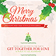 Christmas Celebration Greetings Flyer Template - GraphicRiver Item for Sale