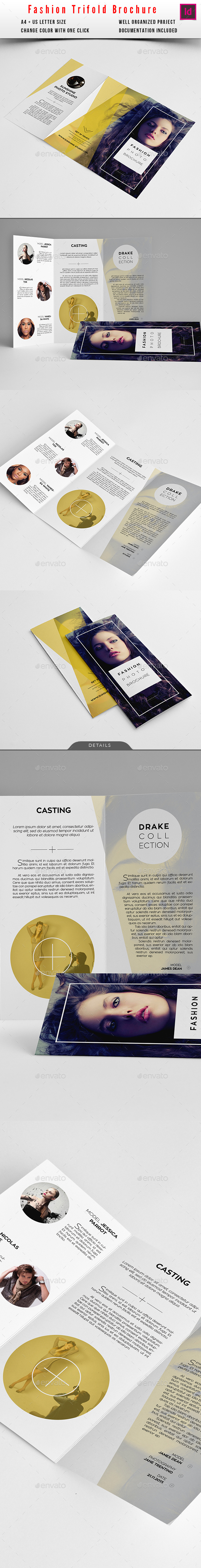 Fashion Trifold Brochure - Informational Brochures