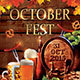 Oktoberfest Festival Party Flyer - GraphicRiver Item for Sale