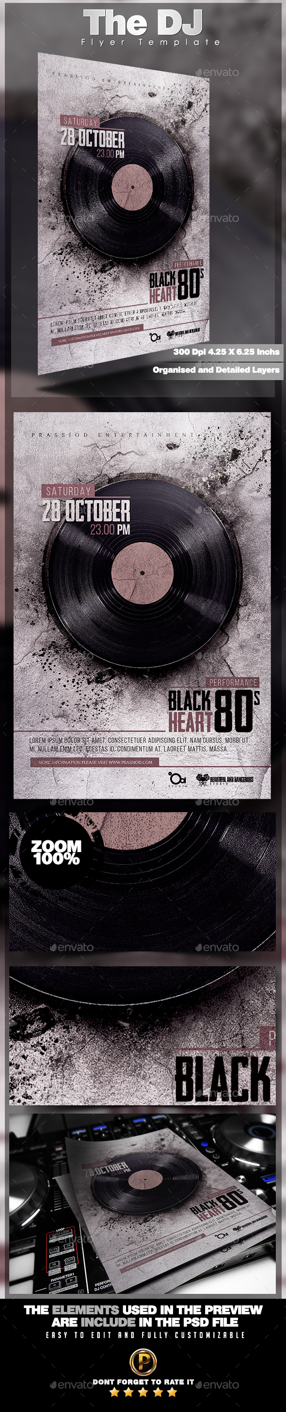 The DJ Flyer Template - Clubs & Parties Events