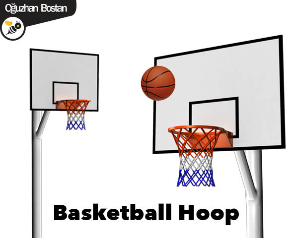 Basketball Hoop - 3DOcean Item for Sale
