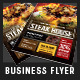 Steak House BBQ Restaurant Flyer - GraphicRiver Item for Sale