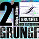 21 Photoshop Grunge Brushes - GraphicRiver Item for Sale