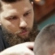 Bearded Brutal Man In a Barber Shop - VideoHive Item for Sale