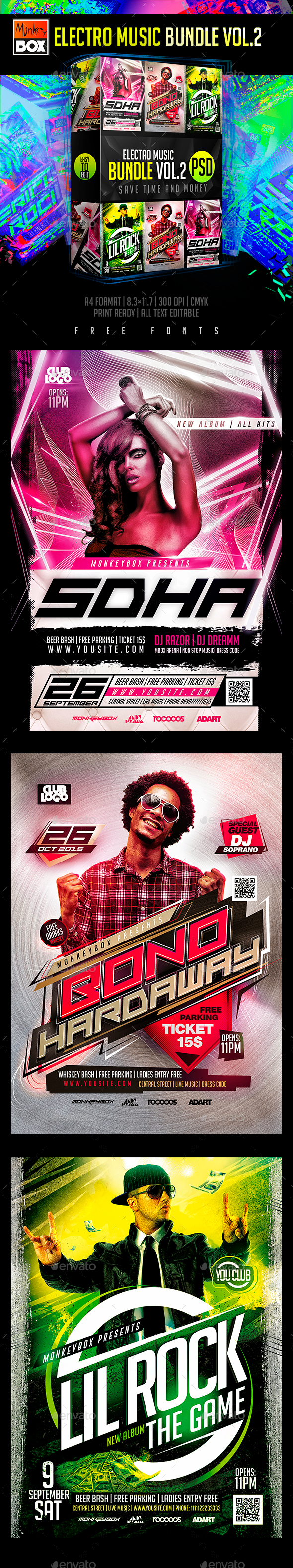 Electro Music Bundle Vol.2 - Clubs & Parties Events
