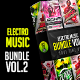 Electro Music Bundle Vol.2 - GraphicRiver Item for Sale