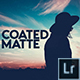 Coated Matte Lightroom Presets - GraphicRiver Item for Sale