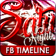7 Day Night Party FB Timeline Cover - GraphicRiver Item for Sale
