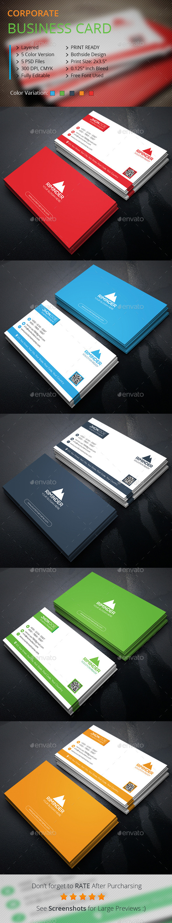 Premium Business Card - Corporate Business Cards