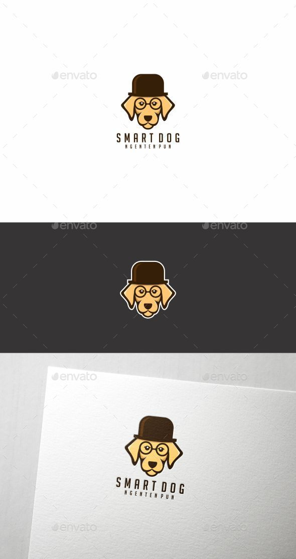 Smart Dog - Animals Logo Templates