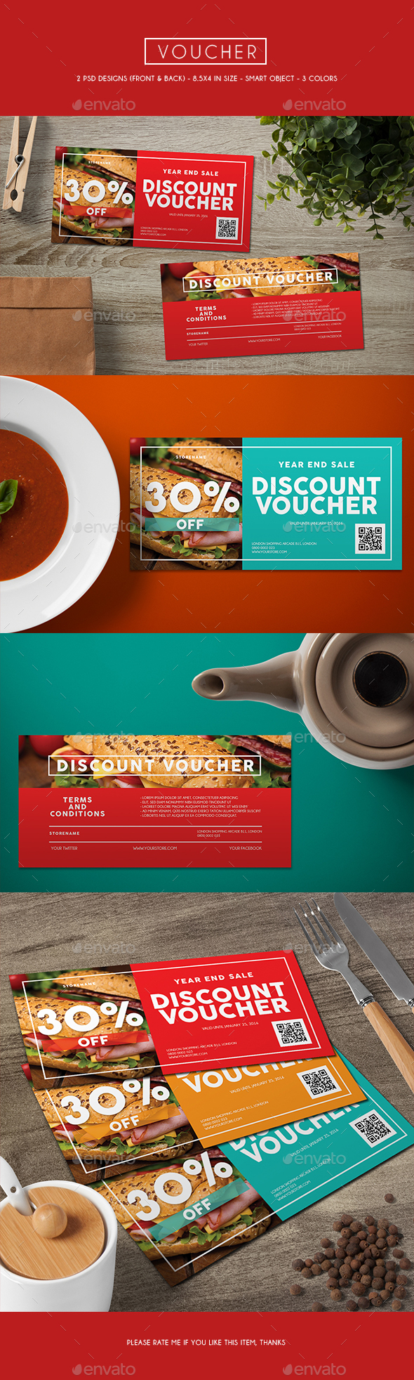 Voucher Card - Loyalty Cards Cards & Invites