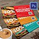 Voucher Card - GraphicRiver Item for Sale
