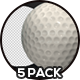 Golf Ball - 5 Pack - VideoHive Item for Sale