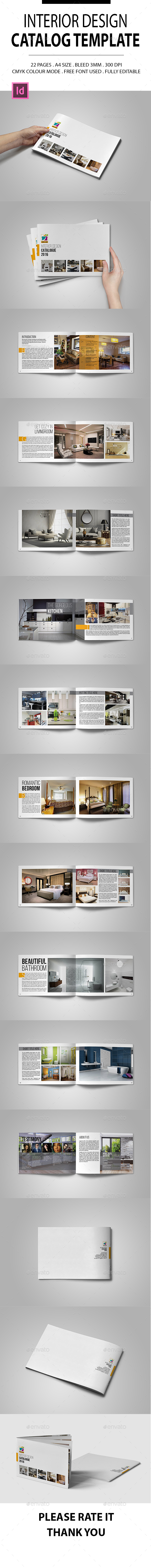 Interior Design Catalog Template - Catalogs Brochures