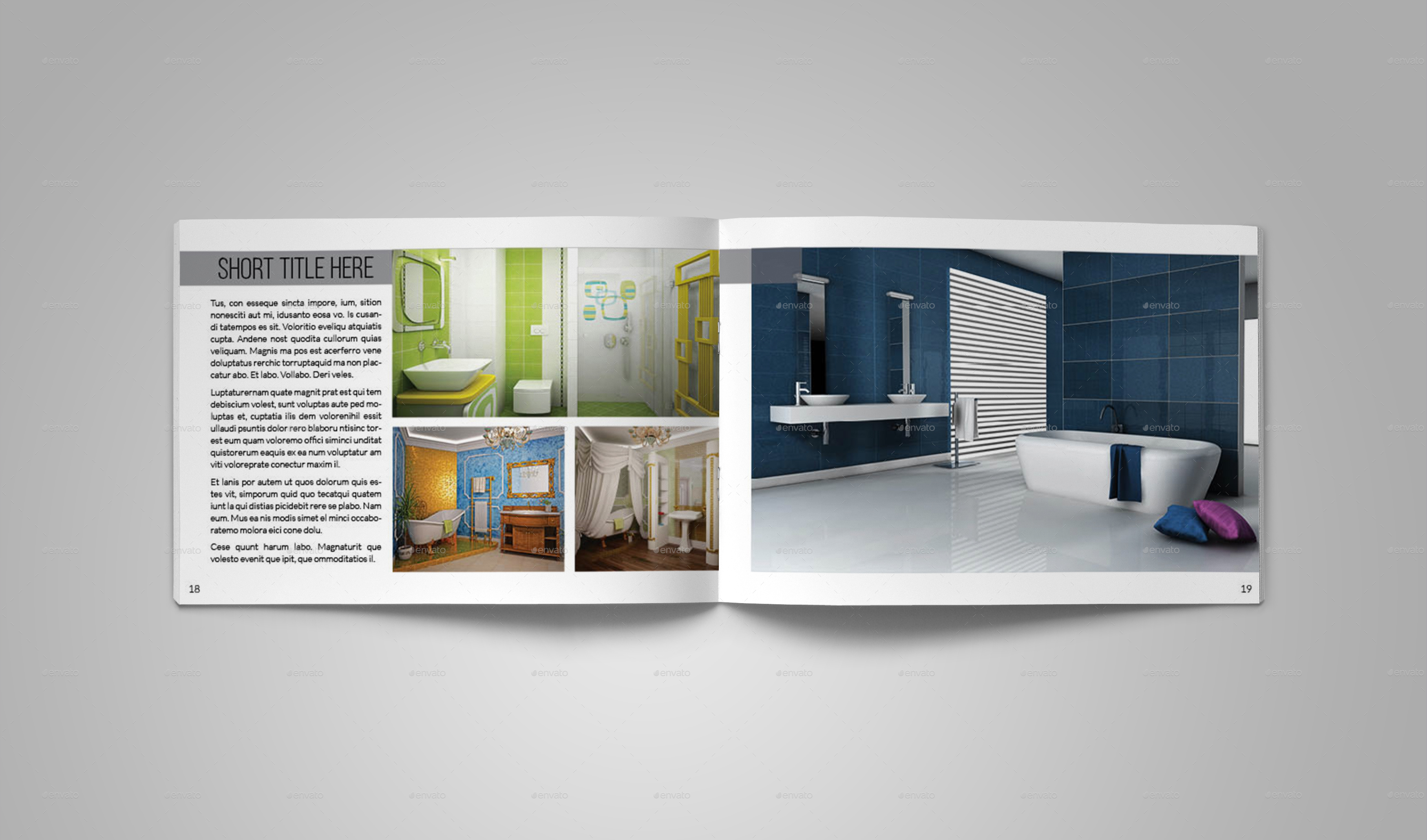 interior design catalog templatebookrak | graphicriver