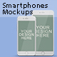 Smartphones Screen Mock-Ups - GraphicRiver Item for Sale