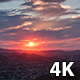 Pink Clouds Sunset Over Simi Valley, California - VideoHive Item for Sale