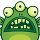 Alien Monster - GraphicRiver Item for Sale
