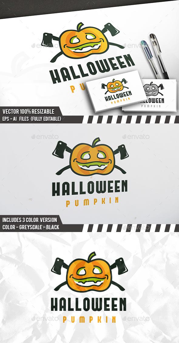 Halloween Logo - Objects Logo Templates