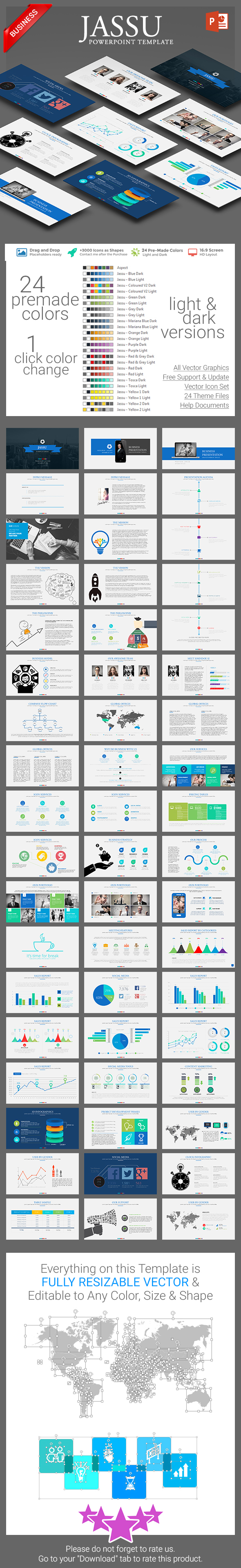 Jassu Business Template - Business PowerPoint Templates