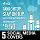 Seo Social Media Covers Kit