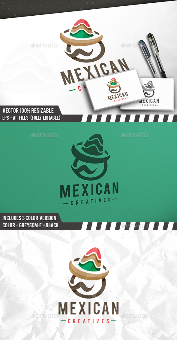 Mexican Logo - Humans Logo Templates
