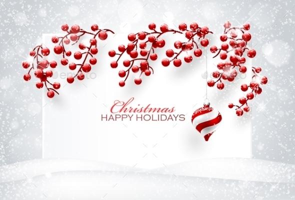 Christmas Red Decorations - Christmas Seasons/Holidays