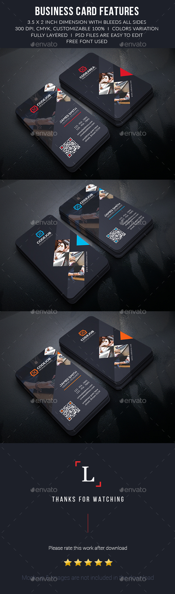 Soft Corporate Business Cards - Business Cards Print Templates