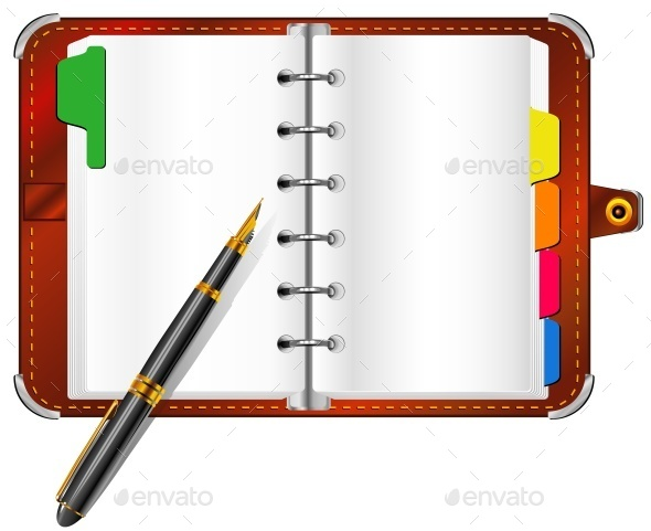 Organizer and Pen - Concepts Business