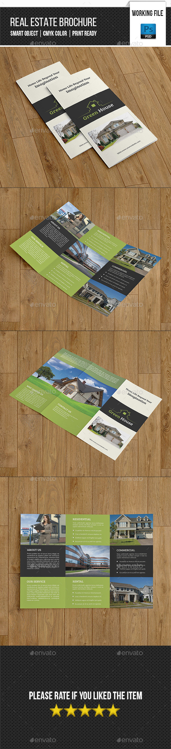 Real Estate Trifold Brochure-V263 - Corporate Brochures