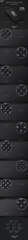 10 Black Prestige Backgrounds  | Collection 5K - Backgrounds Graphics