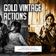 Gold Vintage Focus Actions - GraphicRiver Item for Sale