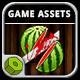 Katana Fruits Game Assets