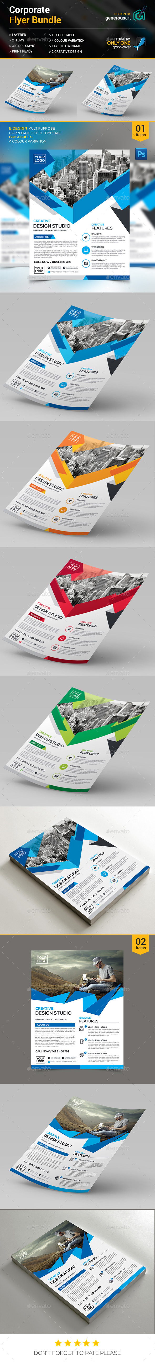Corporate Flyer Bundle_1 - Commerce Flyers