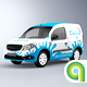 Compact Van Mock-up - GraphicRiver Item for Sale