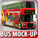 Red Double-Decker Bus Mock-up - GraphicRiver Item for Sale