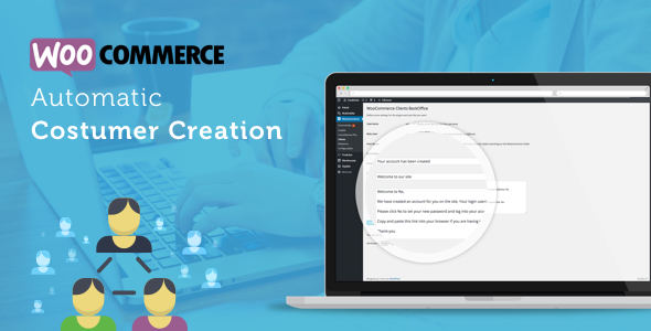 WooCommerce Automatic Customer Creation - CodeCanyon Item for Sale