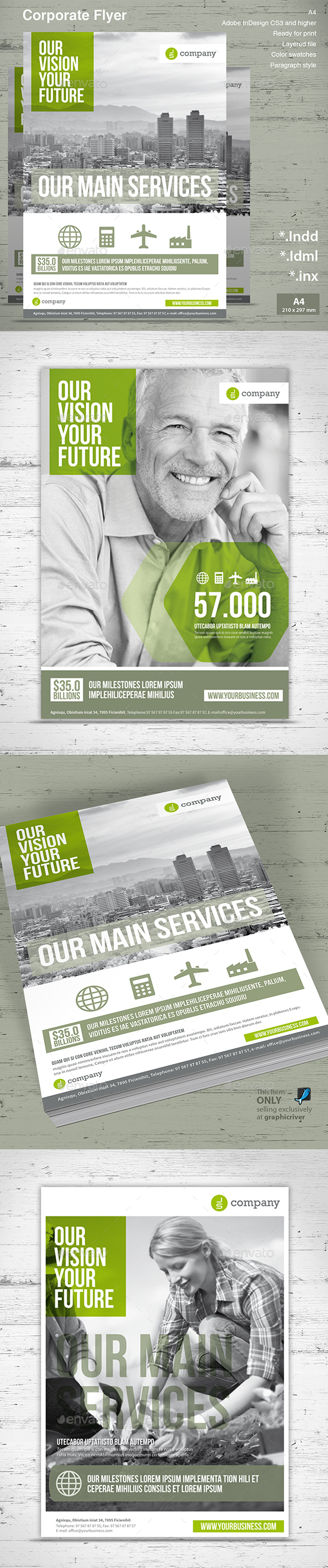 Corporate Flyer Vol. 2 - Commerce Flyers