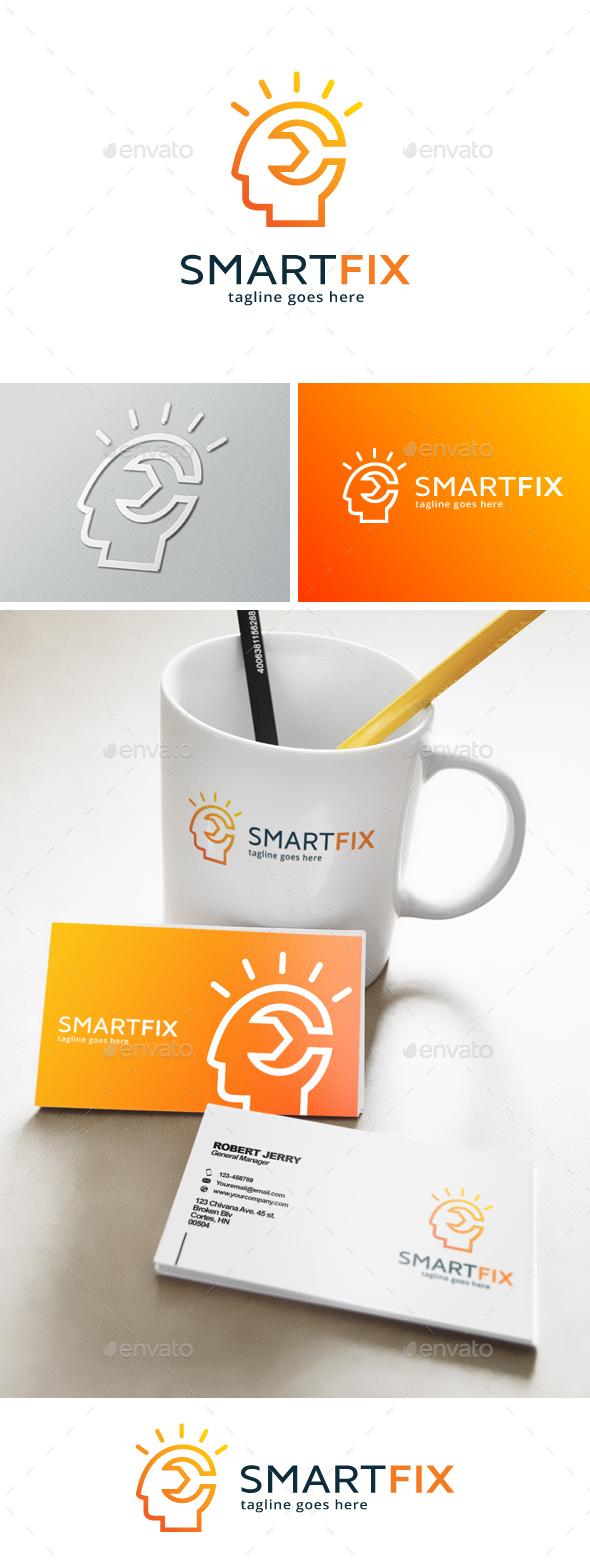 Smart Fix Logo - Humans Logo Templates