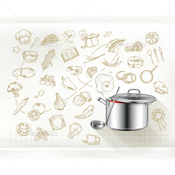 Cooking Infographics - Food Objects