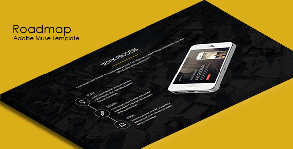 Roadmap – Multipurpose Muse Template