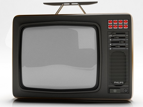 Old Tv - 3DOcean Item for Sale